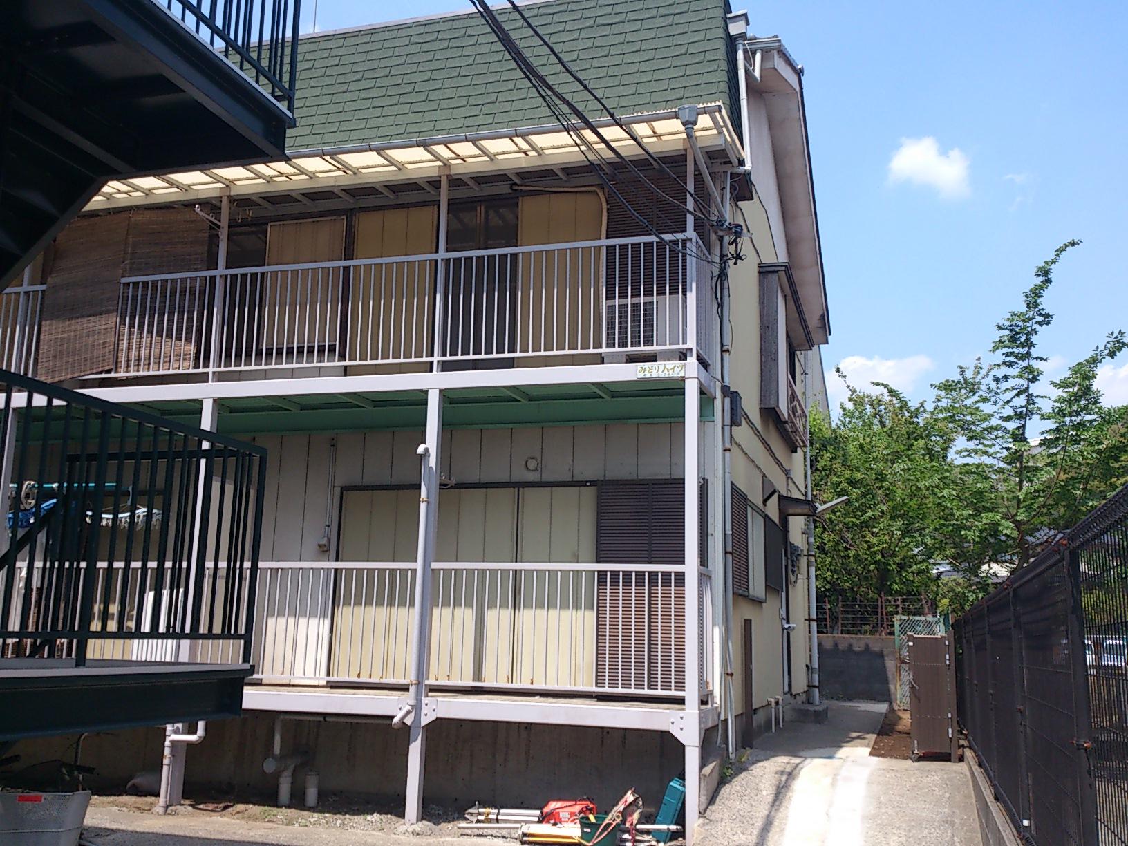 木造2階建物(アパート)解体工事のbefore画像